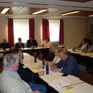Die Mitgliederversammlung diskutierte die Verkehrsentwicklung in Bergheim