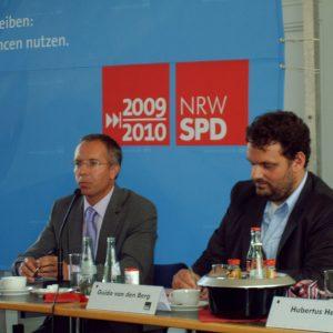 Prof. Karl Rudolf Korte und Guido van den Berg