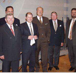 Die SPD-Fraktion feierte sich und die seit 30 Jahren Aktiven Klaus Lennartz und Josef Kings.