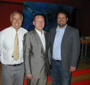 Günter Reiners, Dr. Karsten Rudolph und Guido van den Berg