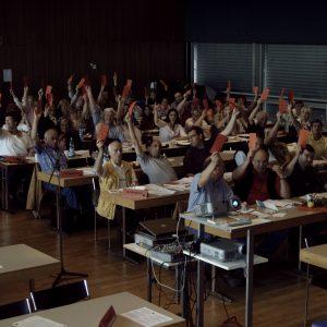 Parteitag der Rhein-Erft SPD am 16.06.2007 zum Thema Grundsatzprogramm