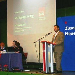 SPD-Kreisparteitag am 20.10.2007 in Hürth