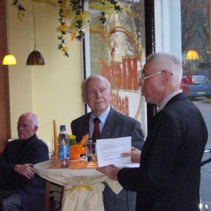 Professor Otto Dann, Kurt Matthes, Hans Krings