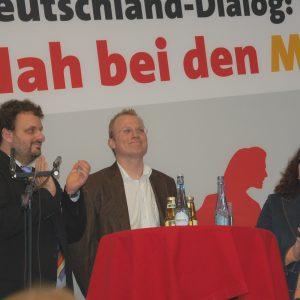 Guido van den Berg, Jochen Ott und Andrea Nahles