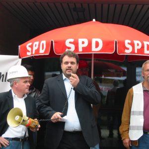Harald Könen, Guido van den Berg und Manfred Holz