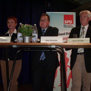 Gabriele Frechen, Uwe Schmitz, Hans Krings