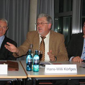 Hans Krings, Hans-Willi Körfges und Sebastian Hartmann