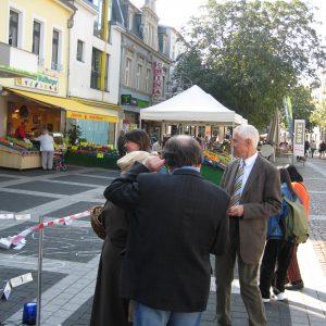 """Die SPD ermittelt am """"Tatort"""" Sparkasse"""