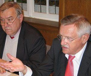 Franz-Georg Rips und Edgar Moron