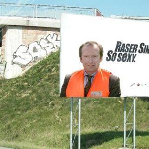 NRW Verkehrsminister Oliver Wittke als Raser