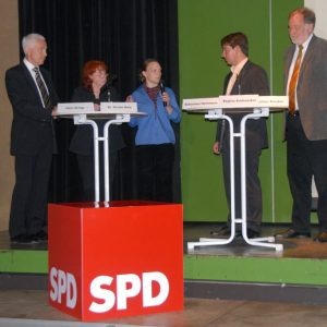 Hans Krings, Gisela Notz, Regina Krahwinkel, Sebastian Hartmann, Walther Boecker