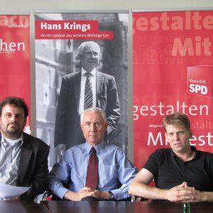Guido van den Berg, Hans Krings, Dr. Kai Faßbender