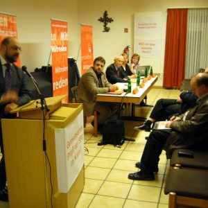 Martin Schulz, Guido van den Berg, Hans Krings, Gabriele Frechen und Ute Meiers