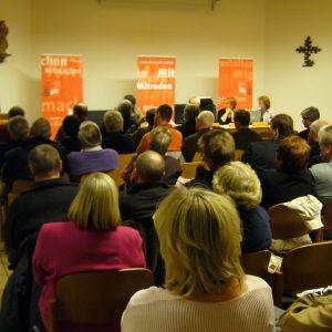 Martin Schulz auf der Mitgliederversammlung in Erftstadt