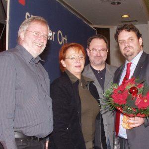 Ingpeer Meyer, Gabriele Frechen, Bernhard Hadel und Guido van den Berg