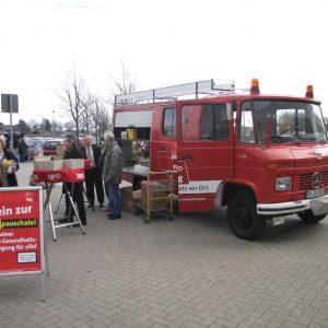 Feuerwehrauto von Guido van den Berg in Elsdorf im Einsatz