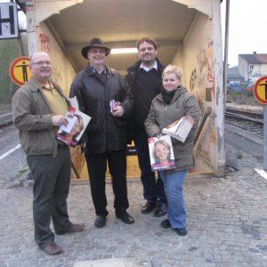 Hans Grevenstein, Peter-Josef Drexler, Guido van den Berg und Nicole Weitz