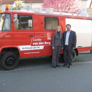 Manuela Schwesig und Guido van den Berg
