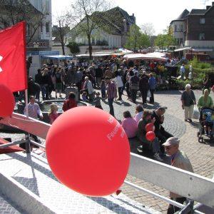 Stand auf dem Frühlingsmarkt Bergheim