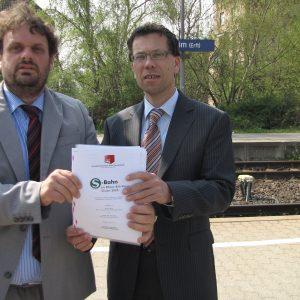 Guido van den Berg und Dierk Timm zum Thema S-Bahn