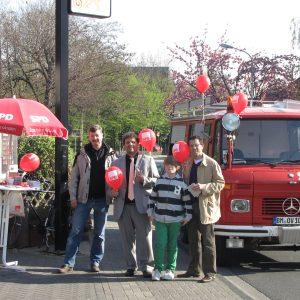 SPD-Stand in Sinthern