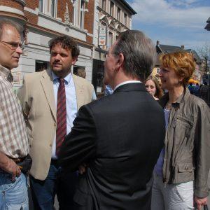 Franz Müntefering im Gespräch mit Christoph Eisenbarth