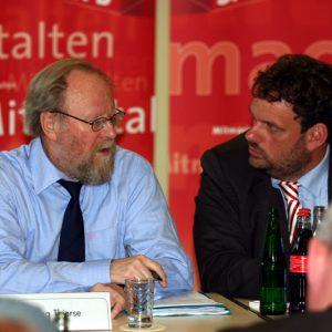 Wolfgang Thiere und Guido van den Berg
