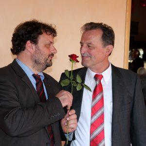 Guido van den Berg und Wilfried Effertz