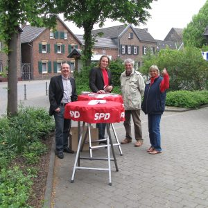SPD Stand in Dansweiler