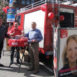 SPD Infostand in Brauweiler