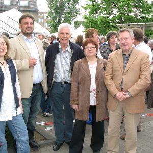 Auf dem Maifest in Sinnersdorf