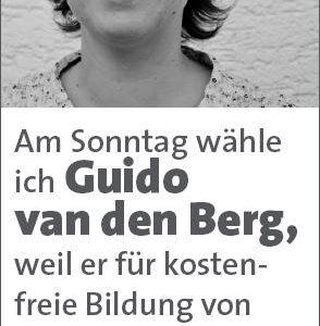 Anzeige von Nina Eickenberg