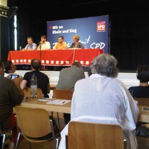 Regionalkonferenz SPD Mittelrhein in Troisdorf