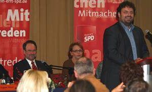 Guido van den Berg auf dem SPD-Kreisparteitag