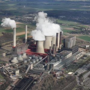 Luftbild Kraftwerk Weisweiler